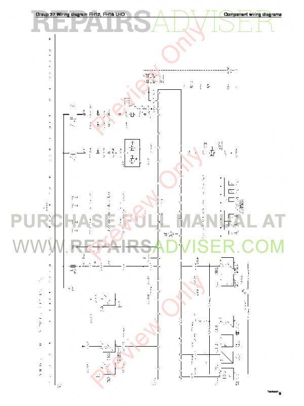 Volvo Trucks Fm7 16  Nh12 Wiring Diagram Service