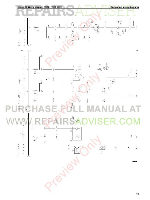 Volvo    Trucks    FM791012  FH1216  NH12    Wiring       Diagrams    Service Manuals PDF