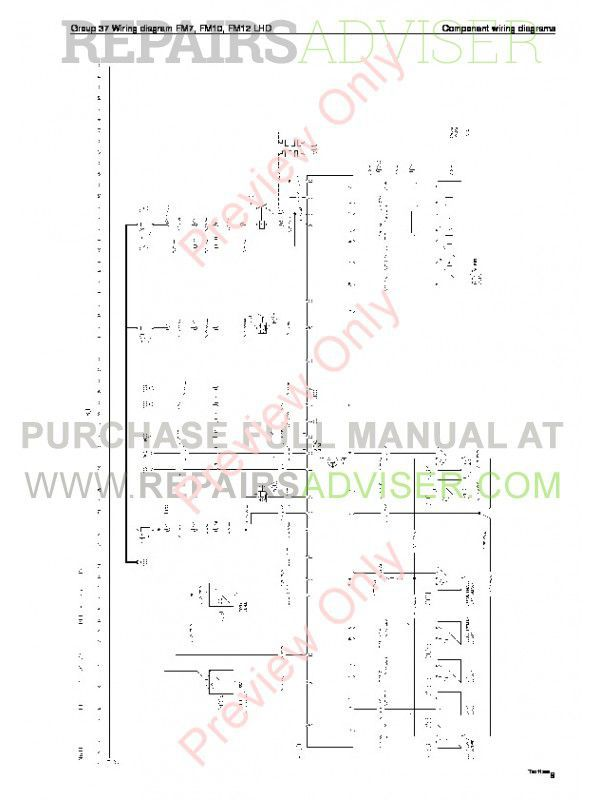 volvo wiring diagrams fm9 fm12 fh12 fh16 nh12 volvo trucks fm7/9/10/12, fh12/16, nh12 wiring diagrams ...
