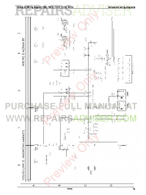 Volvo    Trucks    FM712  FH1216  NH12    Wiring       Diagram    Service Manual