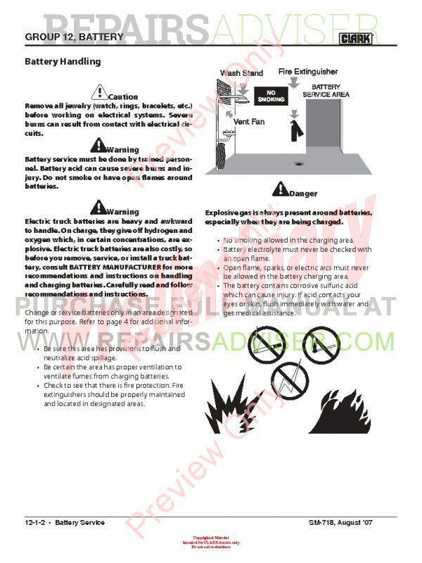 caterpillar forklift service manual pdf