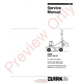 Clark npr 1720 lift trucks sm 587 service manual pdf download clark c500 y 950ch lift trucks sm580 service manual pdf asfbconference2016 Image collections