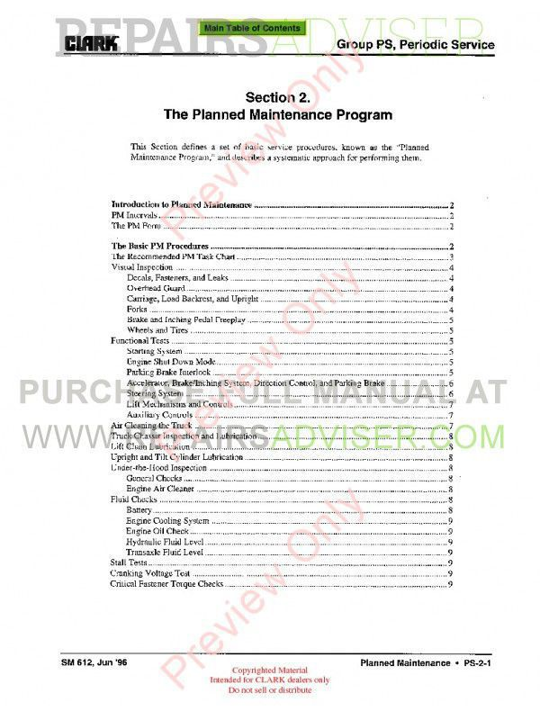 toyota lift truck service manual pdf
