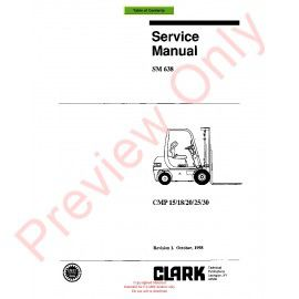 Clark cmp 404550s lift trucks sm 648 service manual pdf download clark cmp 1518202530 lift trucks sm 638 service asfbconference2016 Image collections