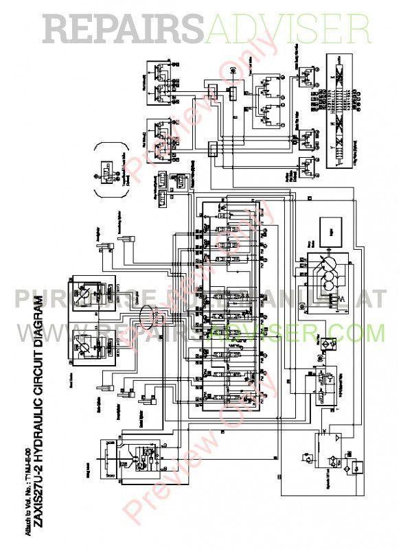 Hitachi Zaxis 27U-2 30U-2 35U-2 Excavator Technical Manual PDF image #1