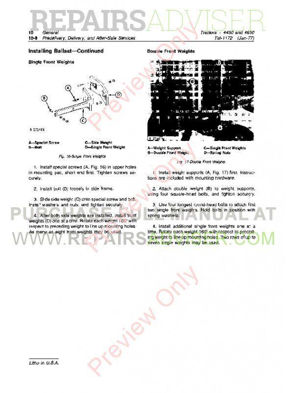 4430 John Deere Shop Manual