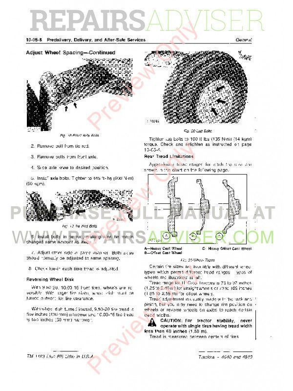 john deere 4840 service manual