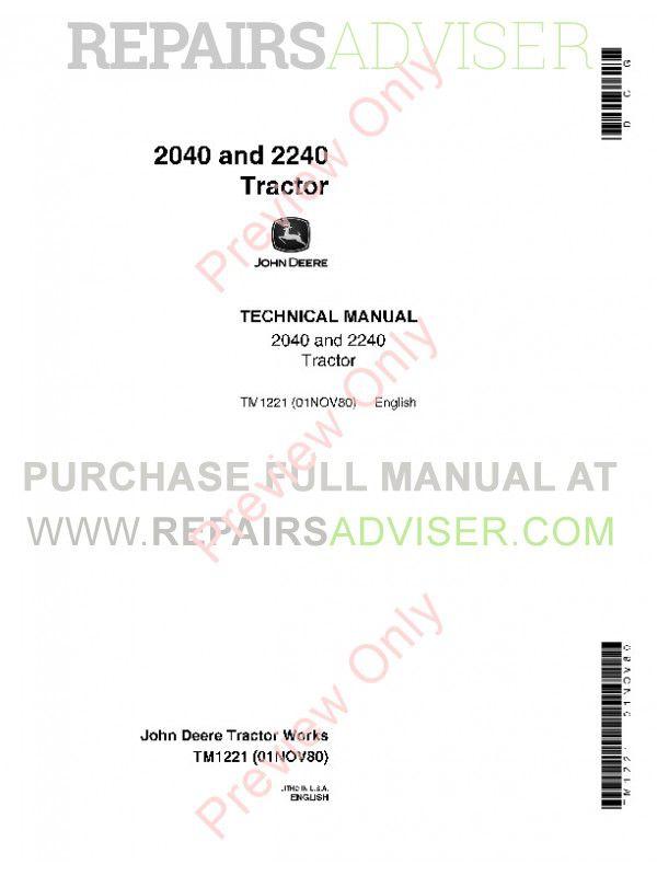 John Deere 2040 Wiring Diagram - Wiring diagram