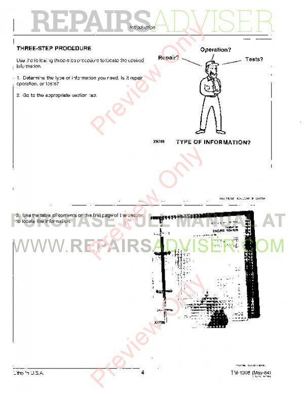 JD 655 Central Metering Seeders incl 770 - 785 Manual Download PDF