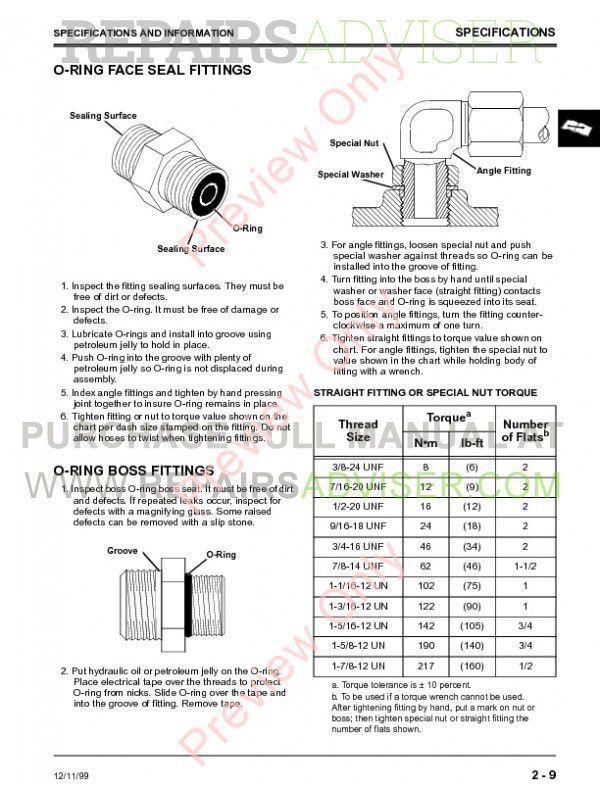 John Deere F735 Front Mower Techical Manual TM-1597 PDF Download on