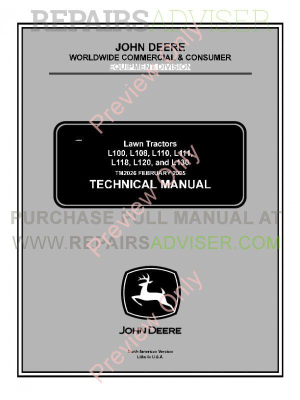 Tm Pdf X on John Deere L130 Parts