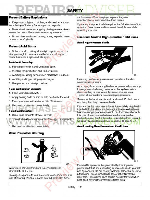 Download John Deere 2305 Tractor Service Manual TM2289 PDF on