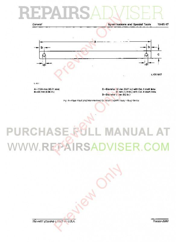 john deere tractor 2950 tm-4407 technical manual pdf, john deere  manuals by www